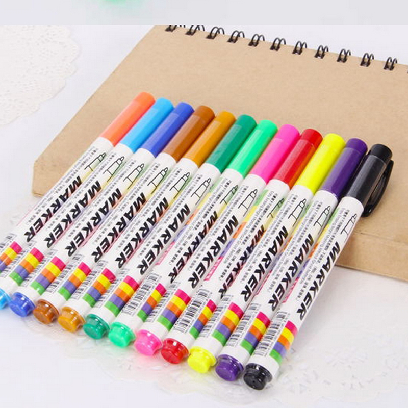 FREE Shipping 12 colors white board maker pen whiteboard marker liquid chalk erasable glass ceramics maker pen easy erasing(China (Mainland))