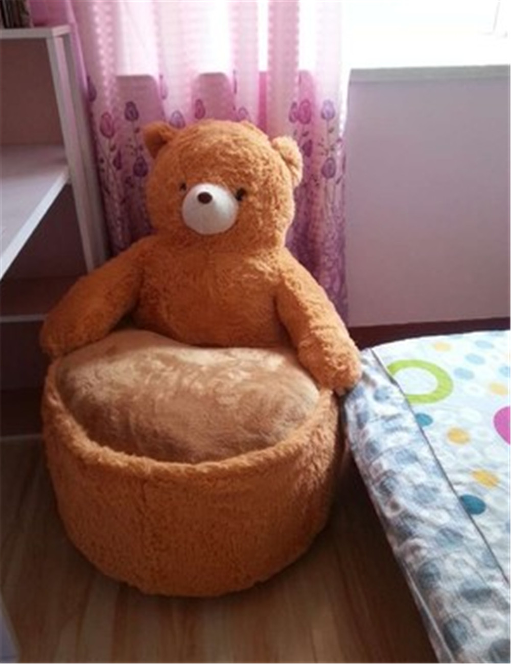 Wondrous Us 72 25 Fancytrader Pop Anime Teddy Bear Chair Toys Huge Stuffed Soft Animals Bears Sofa Cushion For Kids Adults 7 Colors 2 Sizes In Stuffed Interior Design Ideas Inesswwsoteloinfo