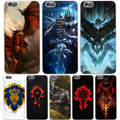 World of Warcraft Жесткий Прозрачный Чехол для Huawie P9 Lite плюс Lite P6 P7 P8 G7 & Honor 4C 4 Х 6 7