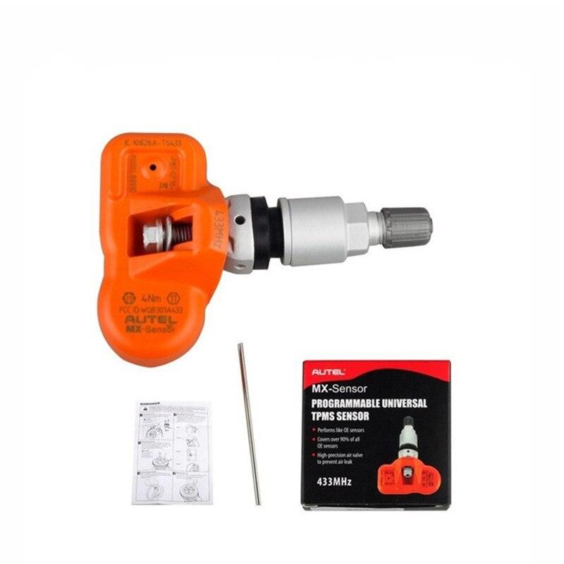 ФОТО Original Autel MX-Sensor 433MHz Universal Programmable TPMS Sensor Special Built for Tire Pressure Sensor MX Sensor