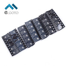 35pcs 7Kinds Each 5pcs AMS1117-1.2V/1.5V/1.8V/2.5V/3.3V/5.0V/ADJ Voltage Regulator Tube Stabilization Pack Assorted Kit