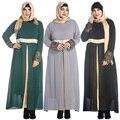 Мусульманский Абая одежда Турции Женщины Атласная Шифон длинное платье фотографии Повелительница исламский abayas платья 7XL Плюс размер одежды