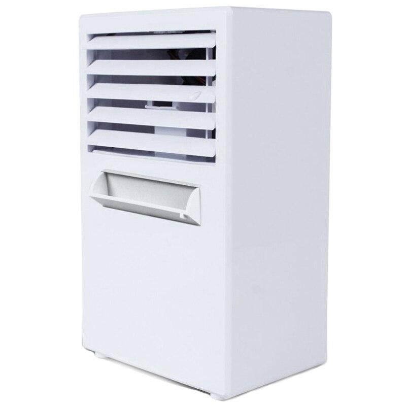 Air Conditioner Fan,Air Personal Space Cooler Small Desktop Fan Quiet Personal Table Fan Mini Evaporative Air Circulator Coole