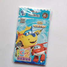 Powerangel 32pcs Box Cartoon Super Wings Sticker Paper Phone Laptop Stickers Kids Classic Toys Skateboard Doodle