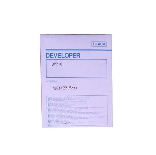 1piece 780g DV710 Developer For Konica Minolta BH 751 600 750 601 Printer Copier Parts тонер konica minolta tn 710 для bizhub 601 751 55000стр