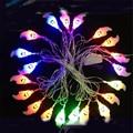 5M  led string light white ghost 20 leds outdoor decoration light for Hallowmas fairy lights festival lighting