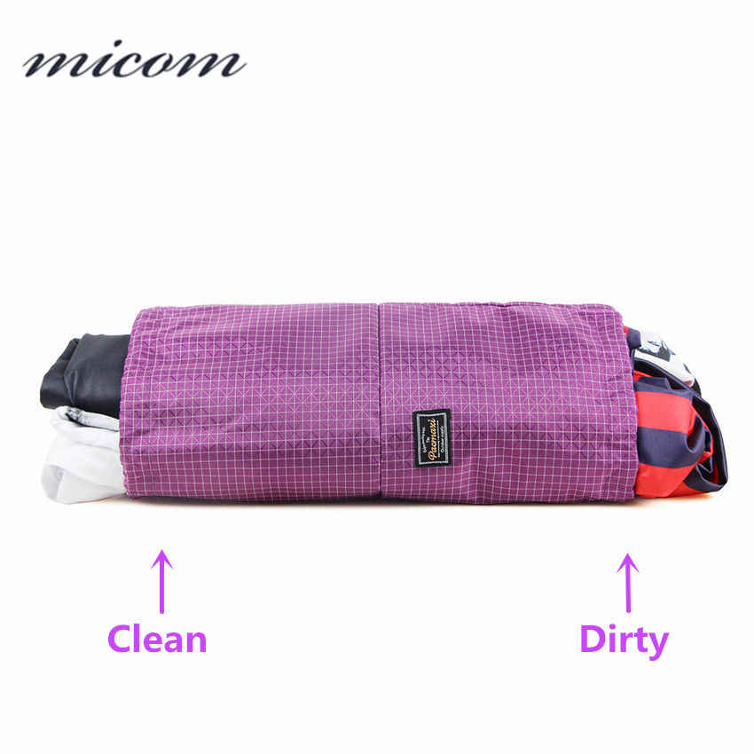 e884a1a26d22 Micom Travel Pouch Packing Bag Travel Organizers for Clean Dirty Clothes  Separate Storage Bags Organizer Travel Accessories