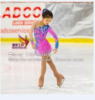 figure skating dress for kids competition ice skating dresses free shipping girls dress to figure high elastic