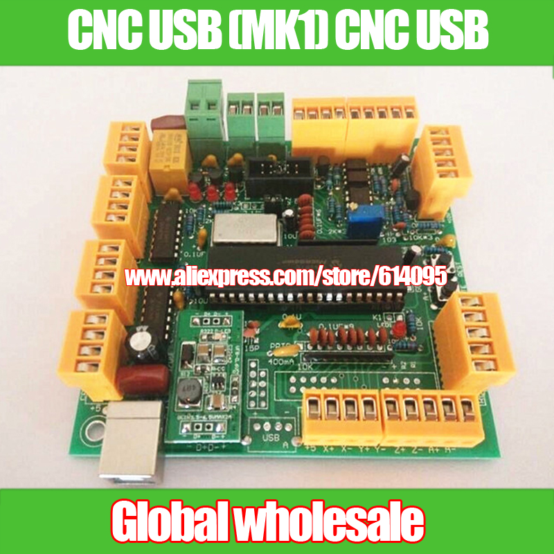 US $35 6 |1pcs USB CNC 2 1 version CNC USB (MK1) CNC USB / alternative  MACH3-in Integrated Circuits from Electronic Components & Supplies on