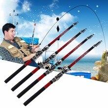 2017 NEW Ultra Light Telescopic Fishing Rod Pole Portable Fishing Pole Fishing Accessories 1.8M/2.1M/2.4M/2.7M/3M