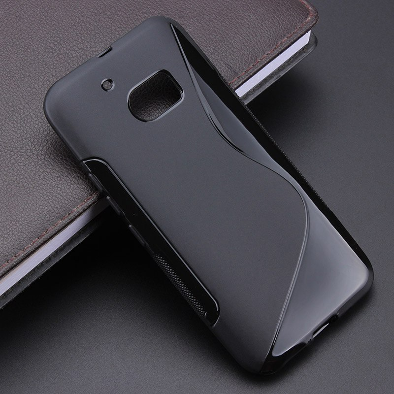 4 Color S line Anti Skidding Gel TPU Slim Soft Case Back Cover