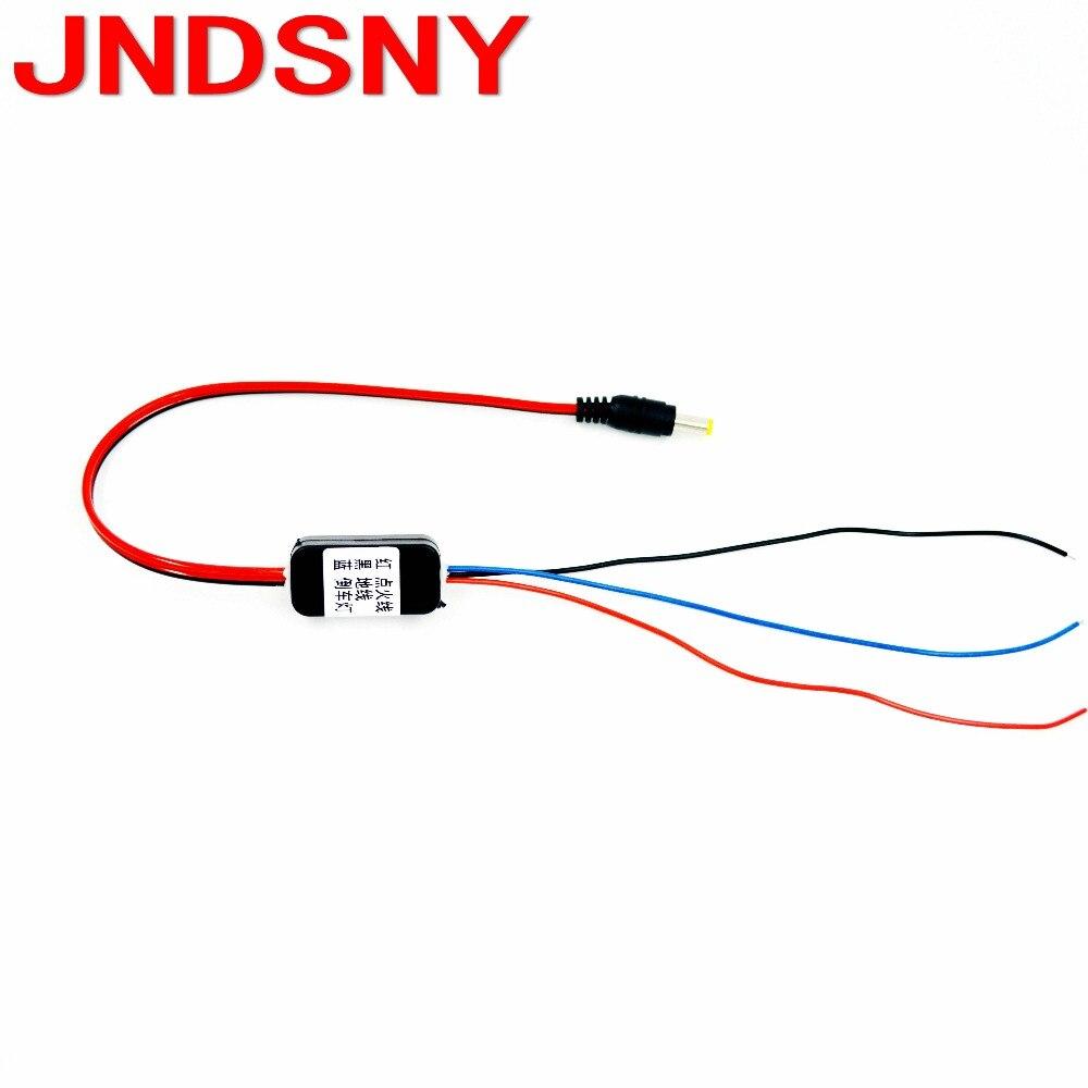 JNDSNY Pour RCD330 RCD330 PLUS AV vue arrière caméra retard dispositif boîte rétroviseur de voiture parking caméra relais