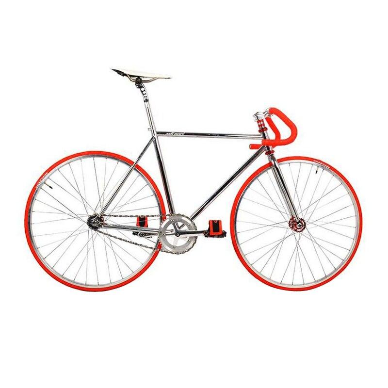 Fixie Fahrrad DIY 700C 52 CM Retro Stahlrahmen Bicicleta Festrad ...