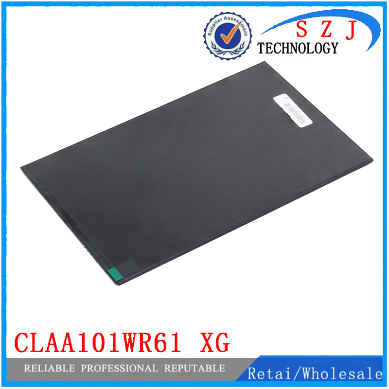 Original 10.1'' inch LCD Display Panel CLAA101WR61 XG for Tablet pc LCD screen Replacement Free shipping original 7 inch 163 97mm hd 1024 600 lcd for cube u25gt tablet pc lcd screen display panel glass free shipping