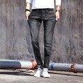 2016 осенью новый мужские джинсы Корейских Тонкий ноги молодежные брюки моды удобные 7 цвет опционный большой размер мужская брюки прилив