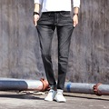 2016 outono novas calças de brim dos homens Coreano de Slim calças perna juventude moda confortável 7 cores opcionais tamanho grande dos homens calças maré