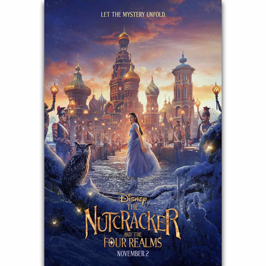 The Nutcracker And The Four Realms Movie Poster 2018 Tv Shows Airing