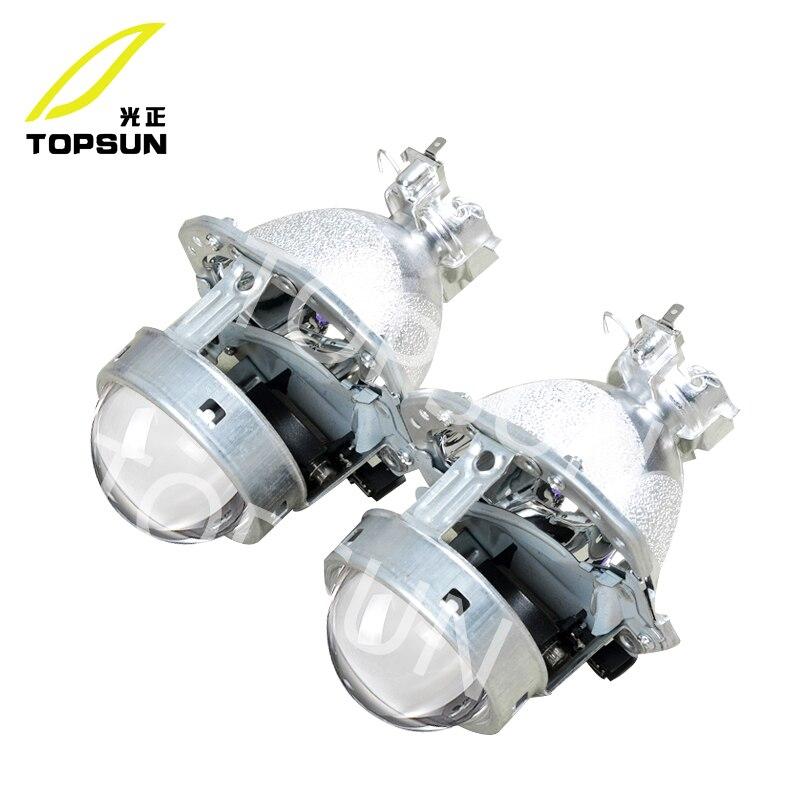 GZTOPHID Car Light Parts 3 inches Using D2S D2H D4S Xenon Bulb original install headlight Hella 4 GEN4 Bi-xenon Projector Lens