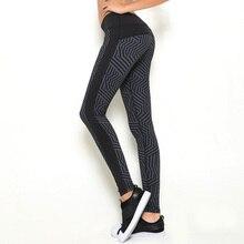 Fitness Premium Black Print Leggings