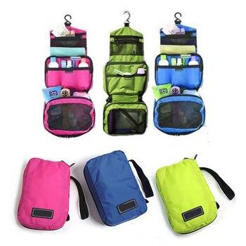 1PC Waterproof Makeup Organizer Toiletry Bag for Women Men Travel Kits Make Up Cosmetic Bags Organizador De Maquiagem 1