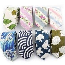 Стиль, галстук из хлопка и льна, мужской модный галстук, дизайнерские галстуки ручной работы, высокое качество