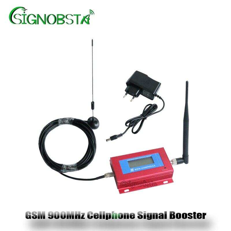 2018 Nouveau GSM Répéteur 900 MHz Mini LCD Affichage GSM900 Cellulaire Répéteur de Signal Booster 2G Téléphone Portable Téléphone Amplificateur Gros