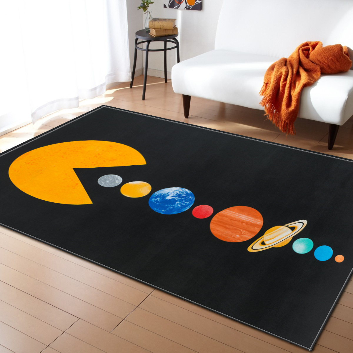 Simple Nordic carpet living room and bedroom parolor rug super soft kids playmat crawling sofa cushion restaurant floor tapetes