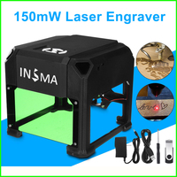 High Quality 1500mW USB Laser Engraver DIY Logo Mark Printer Cutter Carver Engraving Laser Carving Machine