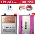 Allparts bt42 originais 3100 mah li-ion polímero bateria do telefone móvel para meizu m1 note meilan note 1 substituição