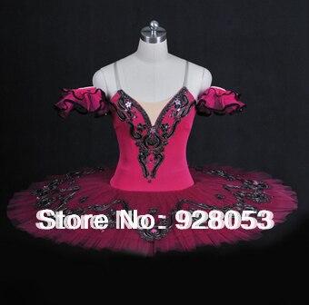 Adult Red Tutu Skirt Professional Ballerina Dresses Ballet Dance Wear Classical Ballet Tutu For Girls Dance