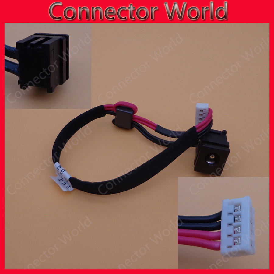 Dc Power Jack Socket Port And Cable Wire Dw002 Toshiba Satellite C650