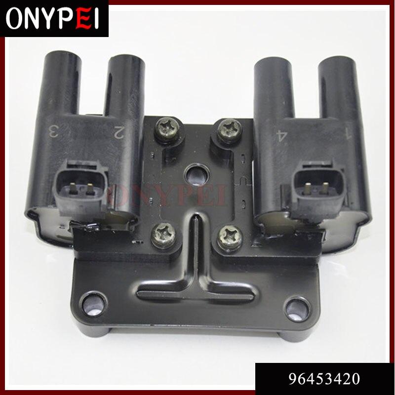 High Quality 96453420 Ignition Coil For Chevrolet Daewoo Lacetti 1 4 Nubira KLAN KLAJ 1 6