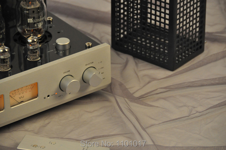 Image 5 - MUZISHARE New X7 KT88 Push Pull tube amplifier HIFI EXQUIS GZ34 Lamp Amp Best Selling With Phono and Remote-in Amplifier from Consumer Electronics