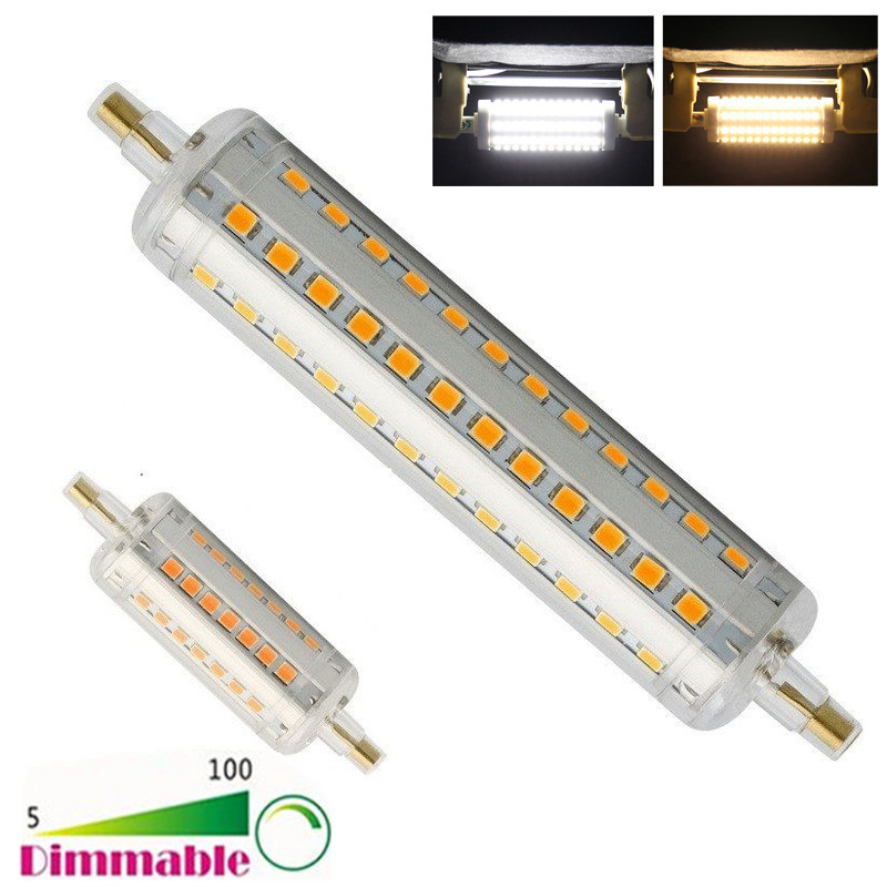 Dimmable R7S J78 J118 SMD 2835 LED Lights Replacement Halogen ...