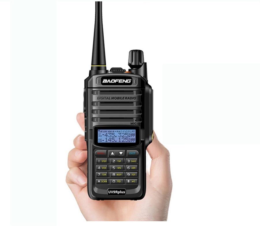 Baofeng UV-9R Plus Handheld Walkie Talkie 8W 2800mAh Dual Band IP67 Waterproof Two Way Radio hf Transceiver UV 9R camping (15)
