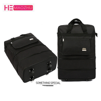 HEMAOZHU2624 Oxford Cloth Travel Bag Ultra Light Luggage Travel Bag Large Capacity Universal Wheel Retractable Folding Tug Box