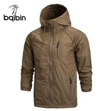 2019 Весна новая модная куртка мужская ветровка непромокаемые куртки мужские s куртки пальто куртка повседневное пальто плюс размер 4XL