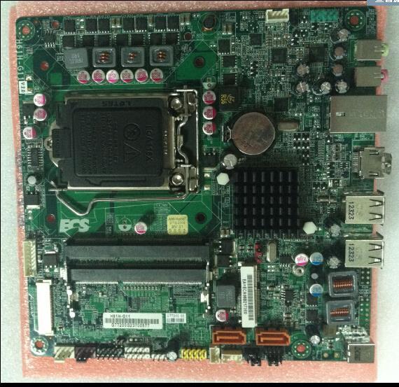 все цены на  1 year warranty  ECS H61H-G11 original motherboard Socket LGA 1155 DDR3 for i3 cpu Mini-ITX Desktop Motherboard H61  онлайн