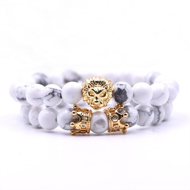 2pcs Lion king bead bracelets