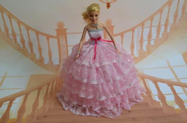 Online Shop Case For Barbie Doll Clothes Princess Dress Deluxe
