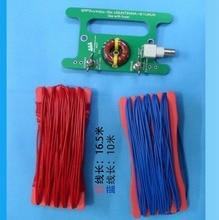 1PC portable Balance unbalance UNUNTENNA 10W BALUN 9:1 UNUN with BNC interface and long cable