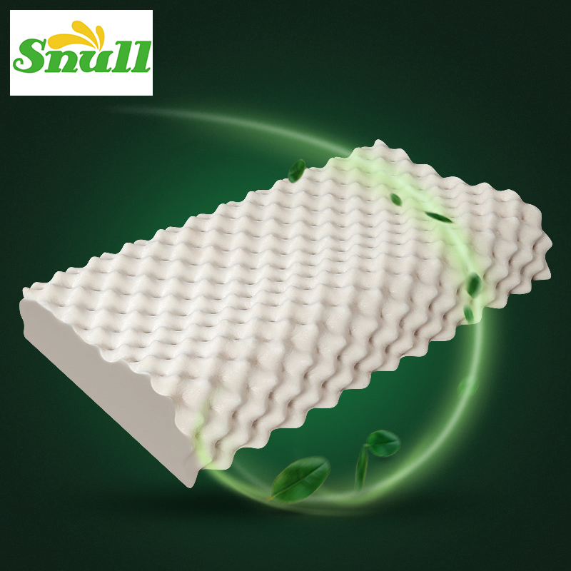 natural latex bed cervical orthopedic pillow sleeping bedding contour message pillow neck head care memory foam pillow for men
