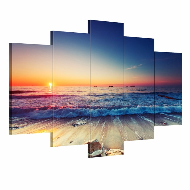 Buy 5 Pieces Modern Wall Art Canvas