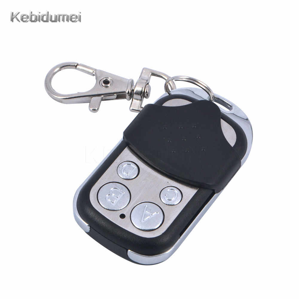 daf2c053153 1/5pcs 4 Channel Universal Garage Door Cloning Remote Control Key Fob  433Mhz Gate Copy Code Learning Garage Door Opener