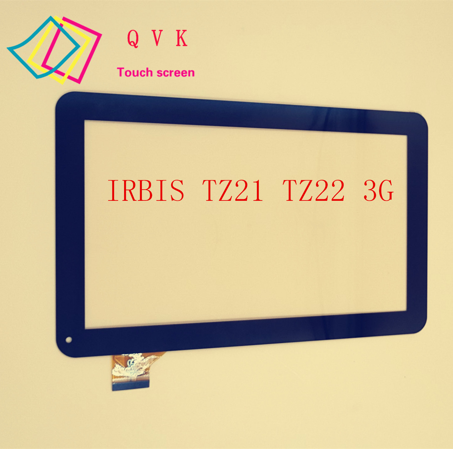 Black For IRBIS TZ21 TZ22 3G 10.1inch tablet pc capacitive touch screen panel digitizer glass 10 1 inch for irbis tx58 tx59 tablet pc external capacitive touch screen capacitance panel