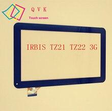 Negro Para IRBIS TZ21 TZ22 3G 10.1 pulgadas tablet pc de pantalla táctil capacitiva del panel de cristal digitalizador