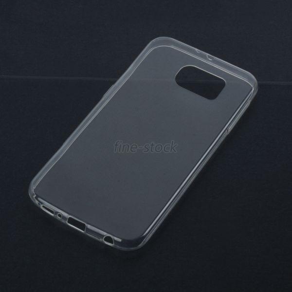 e7e1d925a5 EDAL Mobile Phone Cases Para Samsung Galaxy S6 BORDA Crystal Clear Suave TPU  Transparente Caso Fina e Macia
