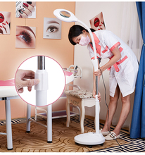 LED Magnifying Light Floor Lamp Magnifier with Stand Flexible Adjustable Gooseneck Beauty