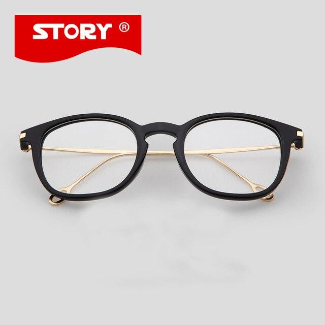 401528d7d2 Story marco de anteojos equipo oculos gafas de ver la televisión para las  mujeres y de