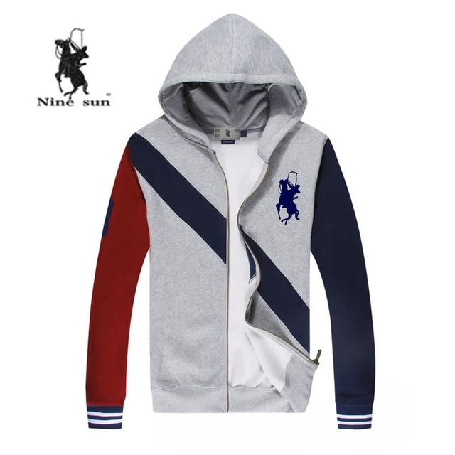New sudaderas hombre 2015 fashion big horse brand US polo sport hoodies men  hit color mens hoodies and sweatshirts 19f0c0cfc9cc